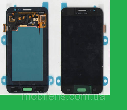 Samsung J500, J500F,J500H,J500M Galaxy J5 Дисплей+тачскрин(сенсор) черный, фото 2