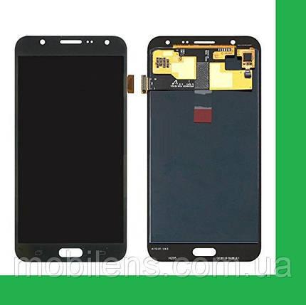 Samsung J700, J700F, J700H, J700M Galaxy J7 Дисплей+тачскрин(сенсор) черный, фото 2