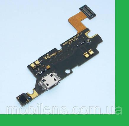Samsung N7000, i9220 Galaxy Note Шлейф с разъемом зарядки и микрофоном, фото 2