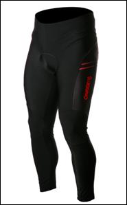 Велоштани з памперсом OnRide Shell чорно-червоні