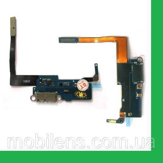 Samsung N900, N9000, N9005, N9006 Note 3 Шлейф с разъемом зарядки и микрофоном