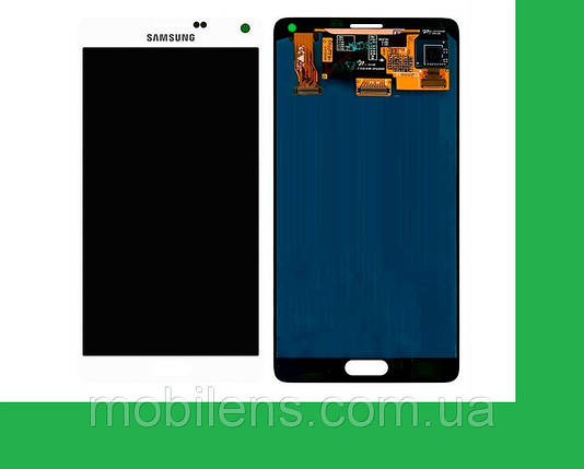 Samsung N910, N910H, N910F, Galaxy Note 4 Дисплей+тачскрин(сенсор) белый, фото 2