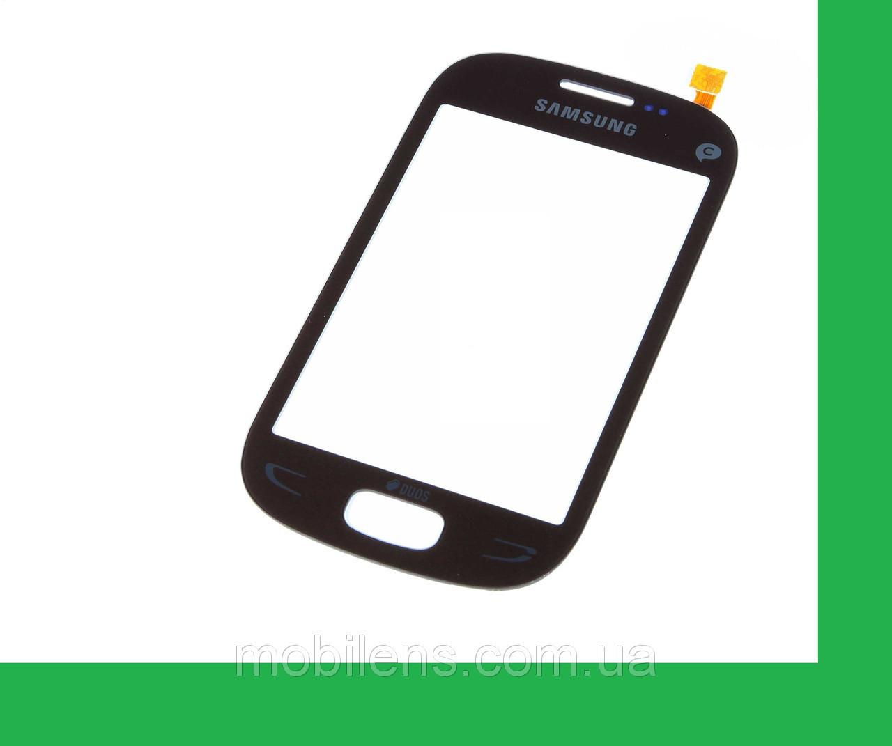 Samsung S5292, Star Deluxe, Duos Rex 90 Тачскрин (сенсор) чёрный