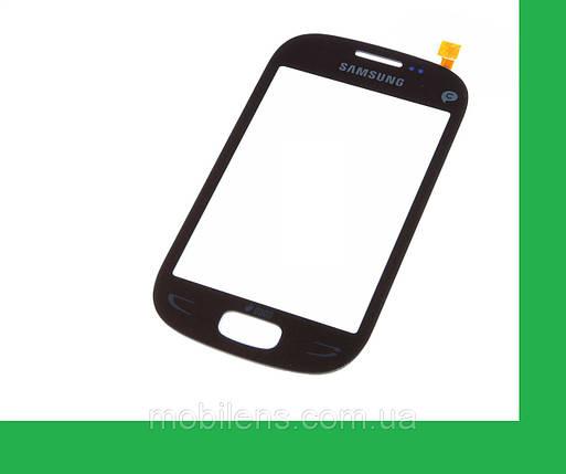 Samsung S5292, Star Deluxe, Duos Rex 90 Тачскрин (сенсор) чёрный, фото 2