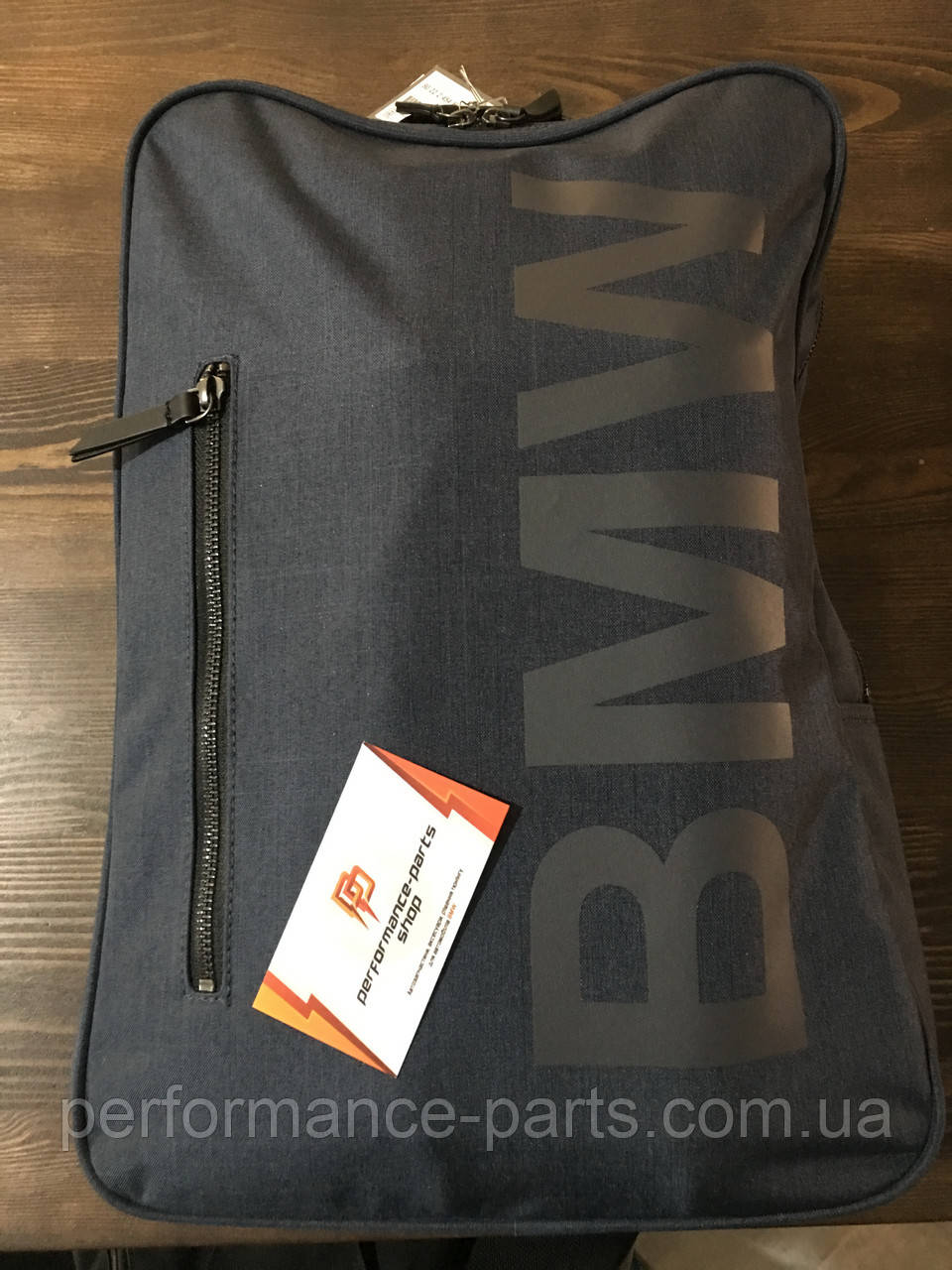 Рюкзак BMW Backpack Modern, 80222454685. Оригинал. Синего цвета.