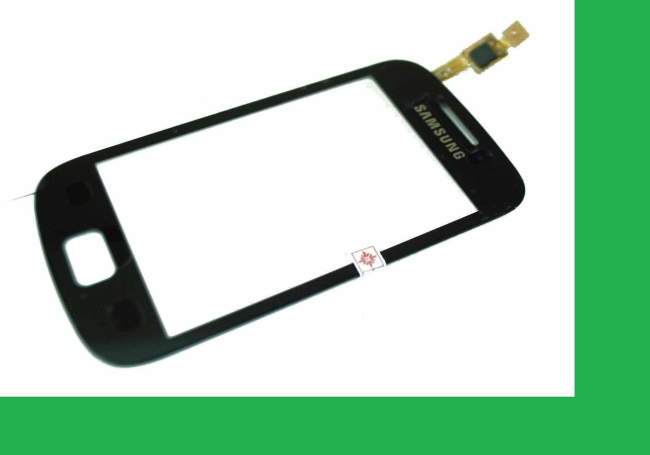 Samsung S6500, Galaxy mini 2 Тачскрин (сенсор) чёрный