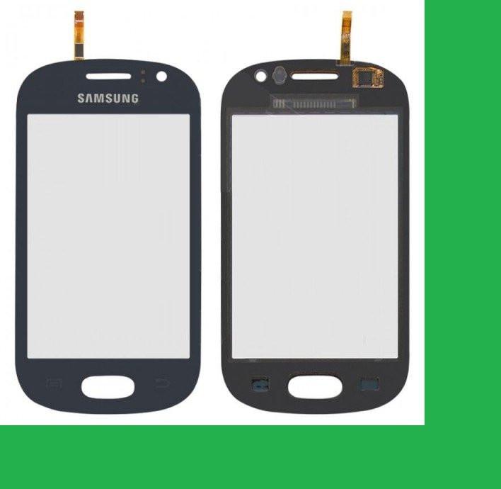 Samsung S6810, Galaxy Fame Тачскрин (сенсор) синий