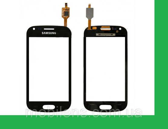 Samsung S7562, S7560 Galaxy S Duos Тачскрин (сенсор) черный, фото 2