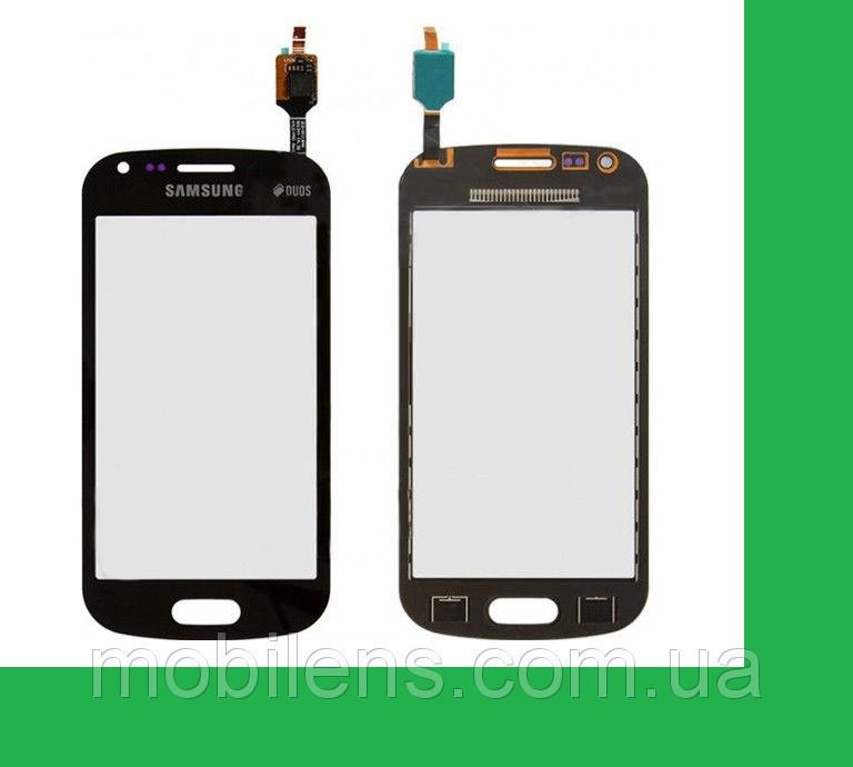 Samsung S7580, S7582 Galaxy Trend Plus Тачскрин (сенсор) чёрный