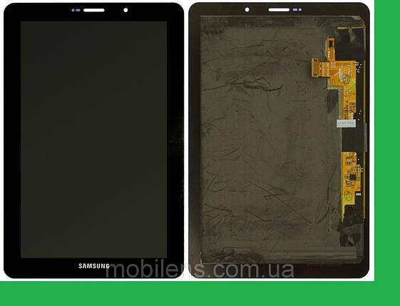 Samsung P6800, Galaxy Tab 7.7 GT-P6800 Дисплей+тачскрин(сенсор) черный, фото 2