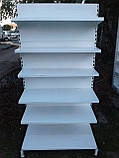 Стеллаж пристенный б/у, стеллажи пристенные металлические б/у, фото 3