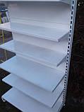 Стеллаж пристенный б/у, стеллажи пристенные металлические б/у, фото 2