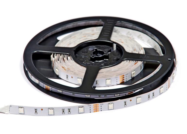 Светодиодная лента Lumex SMD 5050 (30 LED/m) RGB IP20 Econom