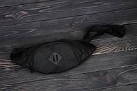 Бананка, поясная сумка черная
