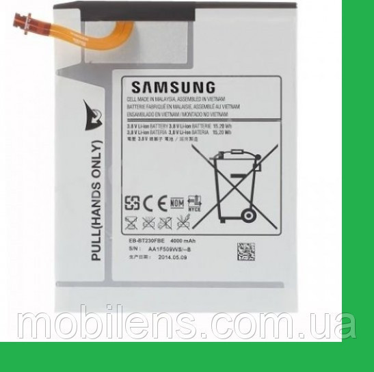 Samsung T230, T231, T235, EB-BT230FBT, EB-BT230FBE Аккумулятор