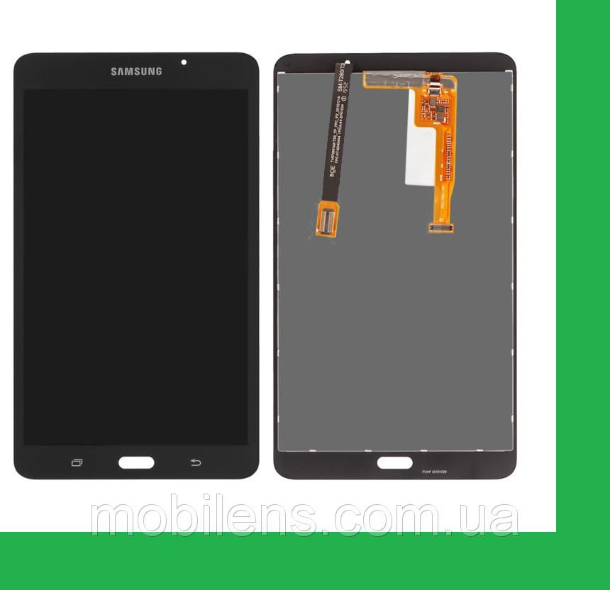Samsung T280, Galaxy Tab A 7.0 (версия Wi-Fi) Дисплей+тачскрин(сенсор) черный