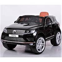 Детский электромобиль  Volkswagen Touareg KD666 Мр 4 монитор лицензия