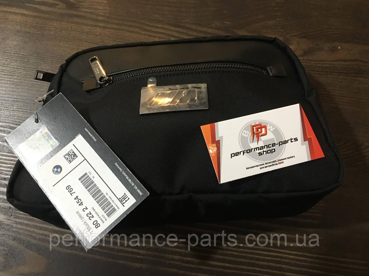 Несесер BMW M Wash Bag, 80222454769. Оригінал. Чорного кольору.