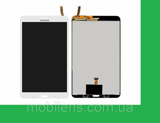 Samsung T331, Galaxy Tab 4 8.0 3G, (версия 3G) Дисплей+тачскрин(сенсор) белый, фото 2