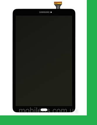 Samsung T560, T561, Galaxy Tab E 9.6 Дисплей+тачскрин(сенсор) темно-серый, фото 2