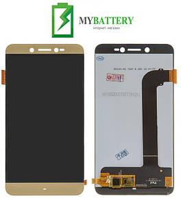 Дисплей (LCD) Prestigio 5530 Grace Z5 Duo с сенсором золотой