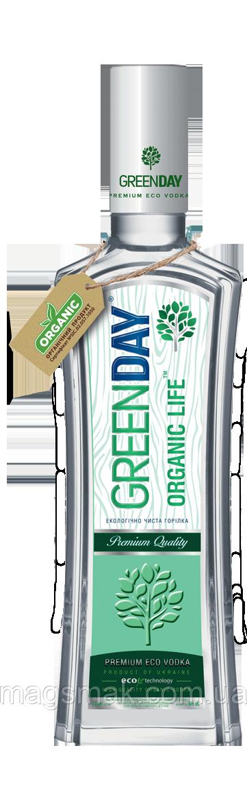 Водка Green Day Organic Life 1л