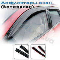 Дефлекторы окон (ветровики) Audi A6 Allroad (2000-2006, 2006-)