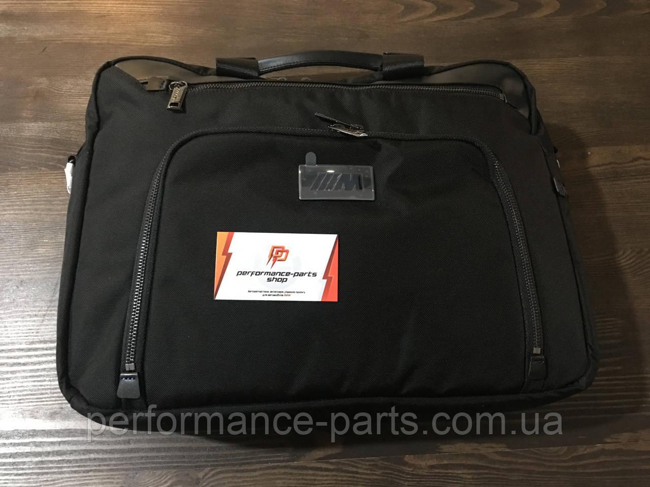 9d14d7a14783 Сумка деловая BMW M Business Bag, 80222454768. Оригинал. Черного цвета -  Performance-