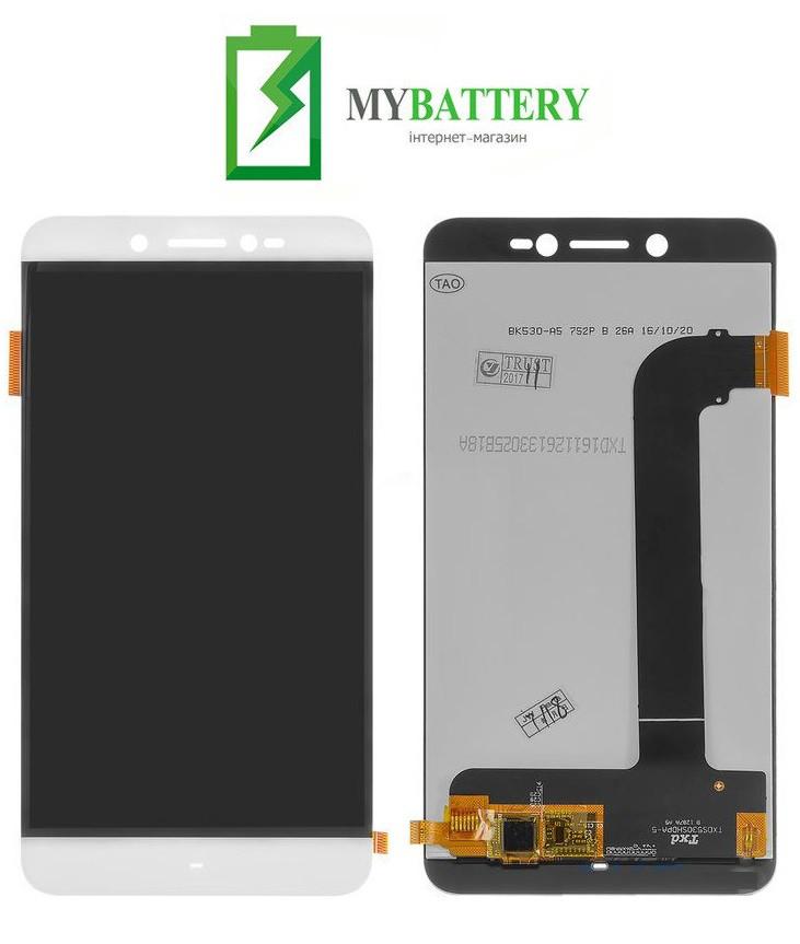 Дисплей (LCD) Prestigio 5530 Grace Z5 Duo з сенсором білий