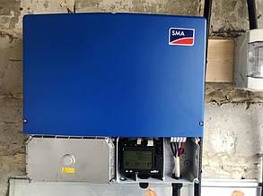 Немецкий инвертор SMA Sunny Tripower мощностью 20 кВт.