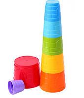 """Большая пирамидка """"Замок"""",38,5см,из пасочек, фото 1"""