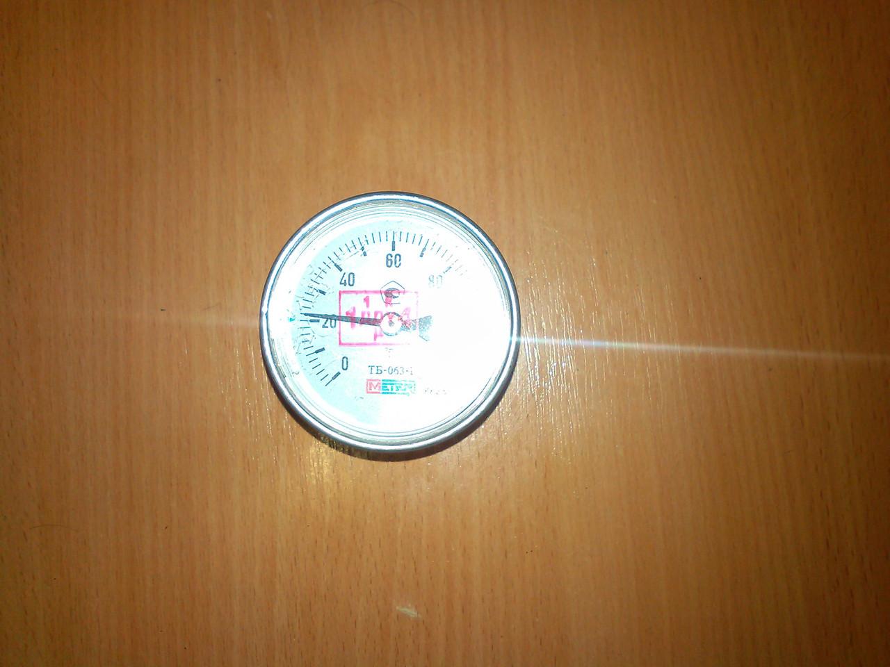 Термометр биметаллический.