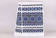 Рушник свадебный Bonita Национальный синий 156х36 см (Р238)