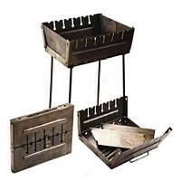 Мангал-чемодан на 6 шампуров Stenson