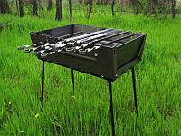 Мангал-чемодан на 8 шампуров Stenson