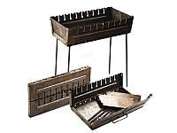 Мангал-чемодан на 10 шампуров Stenson