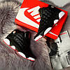 Nike Air Jordan 13 Black White Red  (реплика)