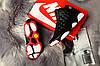 Nike Air Jordan 13 Black White Red  (реплика), фото 6