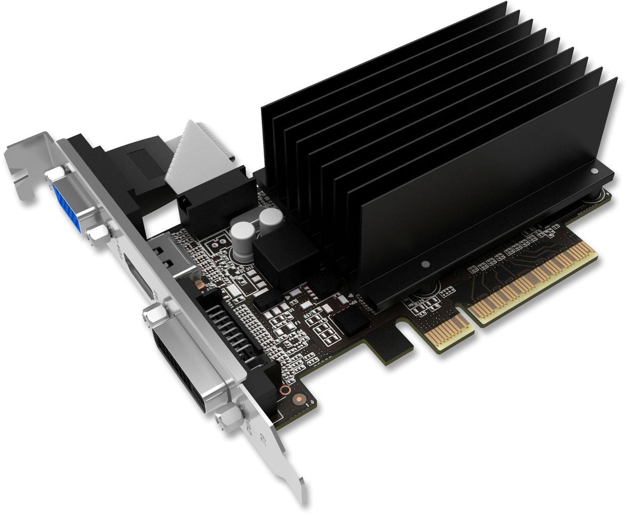 "Видеокарта Palit GeForce GT630 2GB DDR3 64bit (NEAT6300HD46-2080H) ""Over-Stock"" Б/У"