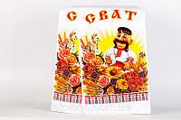 Рушник свадебный Bonita Сват в цветах 200х36 см (Р101)