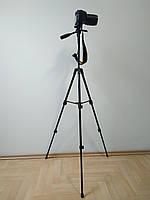 Компактный штатив для фотоаппарата A508 черный (43-125 см)