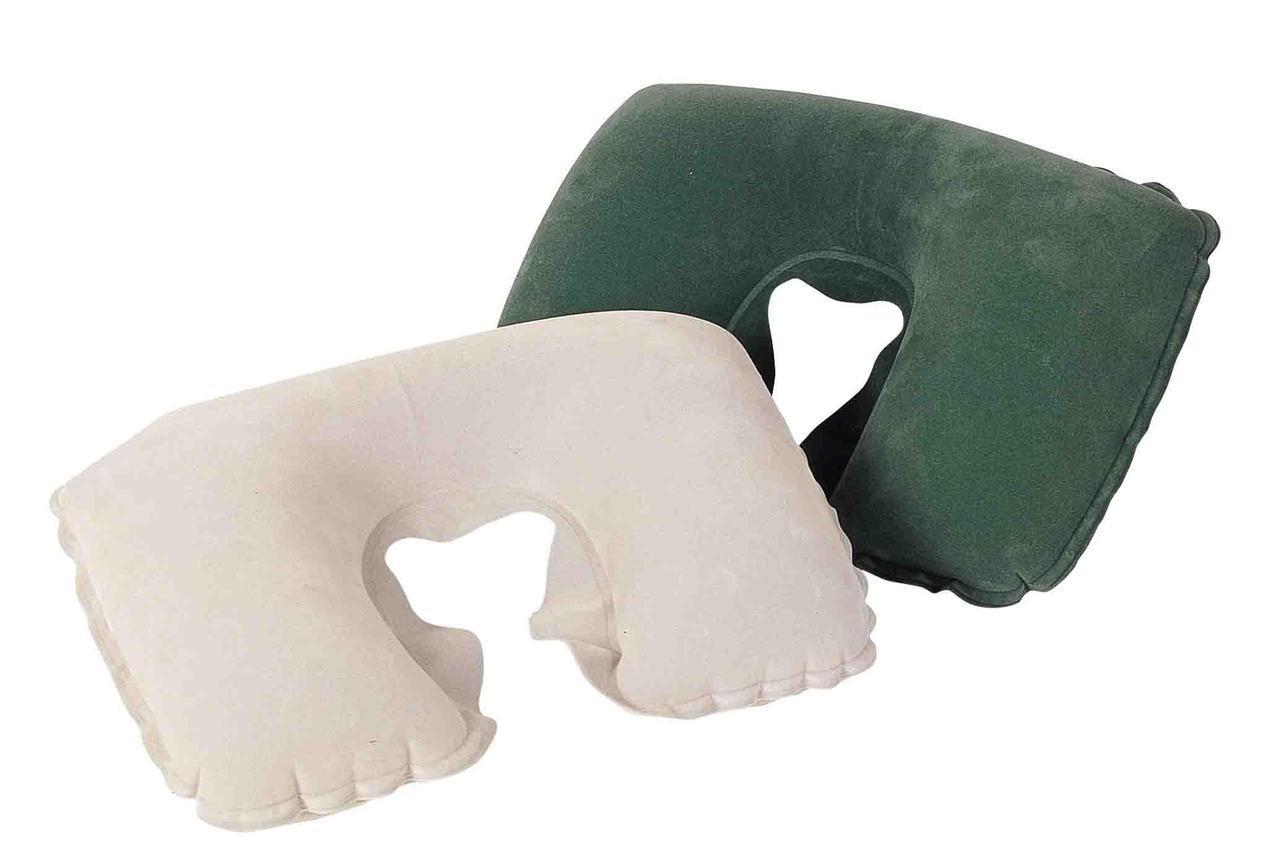 Надувная дорожная подушка под шею BestWay 67006, 46х28см