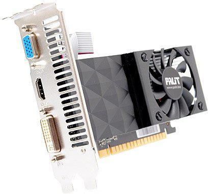 "Видеокарта Palit GT 630 1GB/DDR3/128bit NEAT630NHD01-1070F ""Over-Stock"" Б/У"