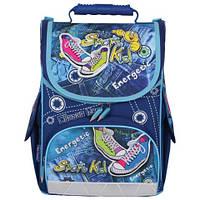 Ранец детский ортопедический TIGER (ТАЙГЕР) Кеды (школьный рюкзак), 13 л, 34х27х19 см + спиннер в подарок!!!