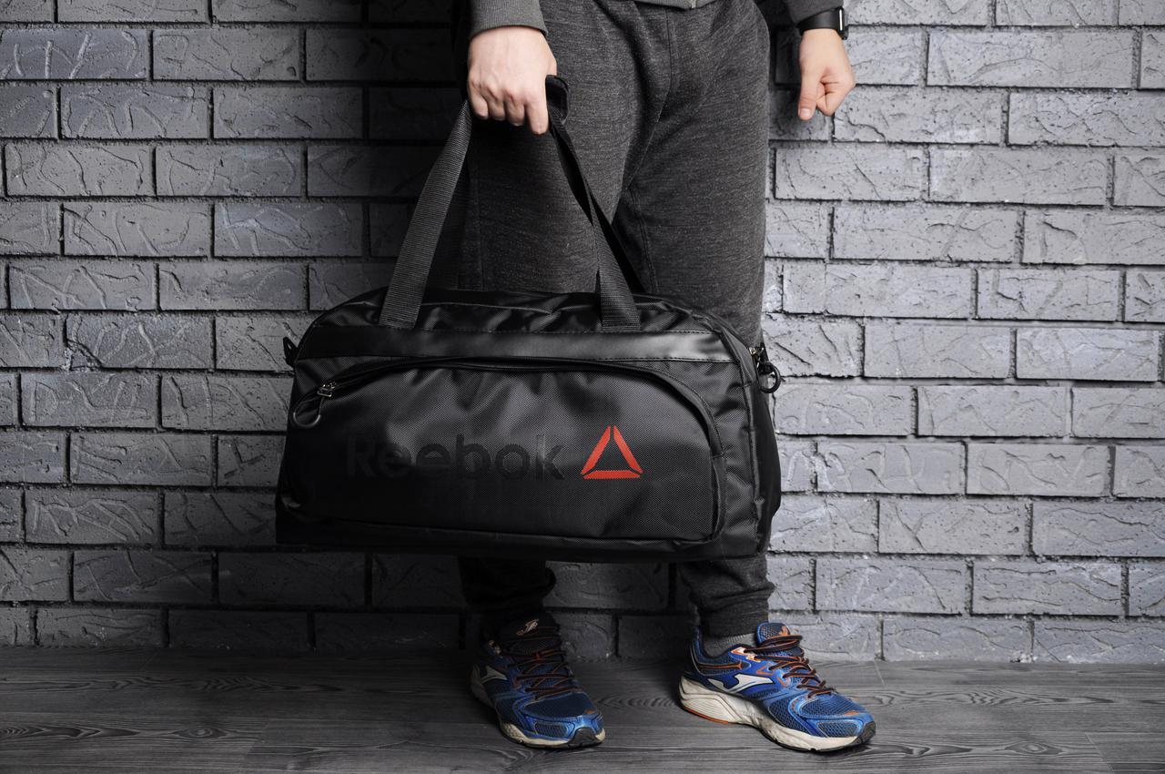Спортивная, тренировочная сумка Reebok, рибок