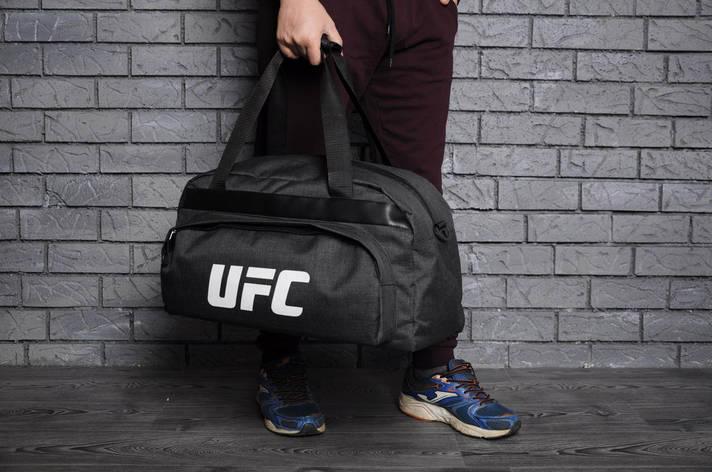 Спортивная, тренировочная сумка UFC, юфс, фото 2