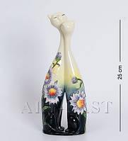 Фарфоровая фигурка-ваза Кошки 25 см Pavone JP-98/30