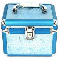 Набор шкатулок для рукоделия бабочки люкс голубая 3 шт S8151