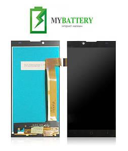 Дисплей (LCD) Prestigio 5506 Grace Q5 PSP с сенсором черный