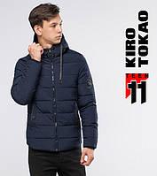 11 Киро Токао   Подростковая куртка зимняя 6009-1 темно-синий